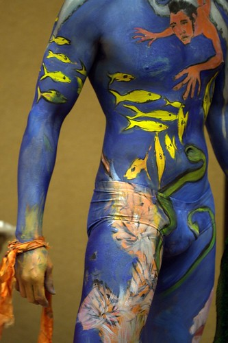 Male Body Painting