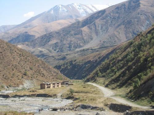 Foot of Kaldama Pass, Kyrgyzstan