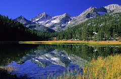 Little Lakes Valley (copeg) Tags: light lake mountains reflection fall nature forest john landscape high scenery little nevada lakes meadow sierra national valley wilderness sierranevada muir highsierra inyo johnmuirwilderness littlelakesvalley abigfave amazingmountain sierravisions