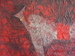 rouge de cadmium pourpre (dtail  buste) (EvEmi) Tags: red paris france sexy green love animal paper rouge gold golden seins or aquarelle femme vert watercolour papier hermaphrodite share nue buste namaste dor sexe vgtal