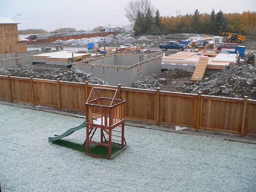 Snow on October 2, 2006