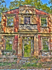 Heigold House (SnakeTongue) Tags: door house abandoned decay kentucky ky front louisville portion hdr deteriorating morethanderby heigold