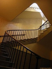 Stairwell in Nebraska State Capitol