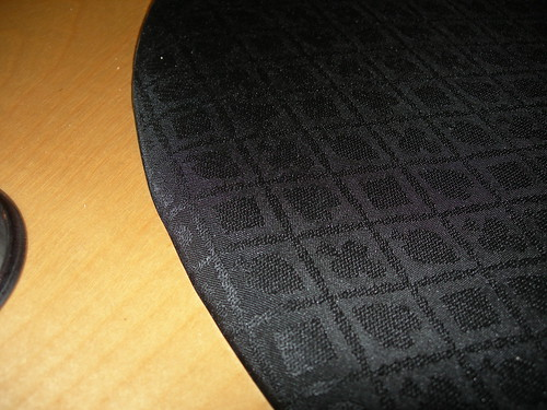 Suited Speed Cloth in place