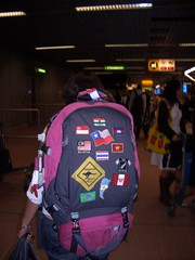 just about to through in Heathrow (minus 2 flags) (theolip) Tags: brazil rio brasil lastnight caipi janerio riodejanerio