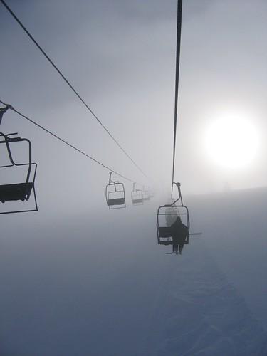 we live ski slopes