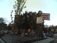 Dunkin Donuts, Union Square Wednesday 5:49 pm 10/18/06 Somerville, Massachusetts