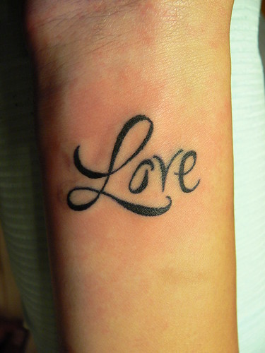 i did this tattoo and another one which was the chinese symbol for love in
