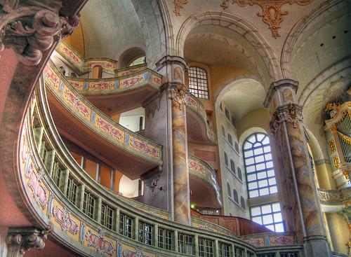 Dresden - Frauenkirche Inside II by chop1n.