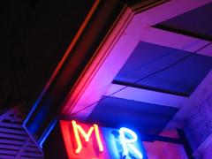 M R (rick) Tags: sanfrancisco roof sign night dark neon darkness letters 2006 m nighttime r foundinsf gwsf gwsf5party gwsflexicon