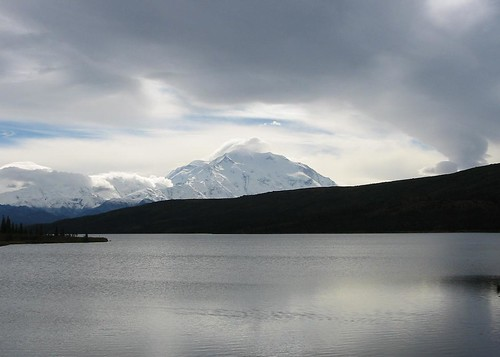 Denali Across the Lake