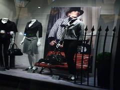 """Well be together again..."" (juanluisgx) Tags: reflection mannequin fashion shopping spain moda jazz leon reflejo shopwindow dummy maniqui escaparate billieholiday utatainhalf meetingagain utataimitateslife albumleon utata:project=shopwindow"