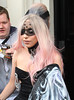 LADY GAGA - MP1 (ya8np1) Tags: ladygaga eyemask lace lacey black pink dipdyehair hair cross collar silver diamonte jewel jeweled fan london uk