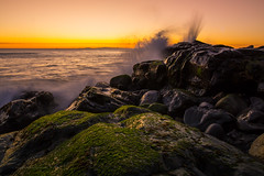 Risen (PatrickDillonPhoto.com) Tags: southerncalifornia california sunset wave ocean pacificocean landscapephotography easter god creation nature rocks seascape