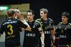 2008-12-28 AIK - VIB SG0000 (fotograhn) Tags: innebandy floorball ssl svenskasuperligan aik västeråsibf sport sportsphotography mål goal 85 jubel jublande glad glädje lycka happy happiness celebration celebrates solna stockholm sweden swe