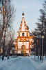 Irkutsk - Иркутск (dataichi) Tags: russia travel tourism destination siberia winter irkutsk иркутск sunset church faith religion orthodox street snow city urban