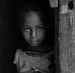 Wollayta Boy (Rod Waddington) Tags: africa african afrique afrika äthiopien ethiopia ethiopian ethnic etiopia ethnicity ethiopie etiopian wollaita wolayta wollayta tribe traditional tribal boy culture cultural child doorway blackandwhite mono monochrome