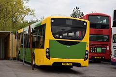 YY66 PCU (markkirk85) Tags: bus buses alexander dennis e20d enviro 200 crosville motor services new westonsupermare 112016 yy66 pcu yy66pcu