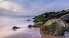 Parhelia! (karindebruin) Tags: brouwersdam nederland noordzee ouddorp thenetherlands zonsondergang zuidholland beach longexposure strand water halo parhelia sundog