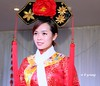 WBY2895-15 5D3-24 Yangtze cruise guide (wbyoungphotos) Tags: girl woman beauty charming knowledgeable guide yangtze river cruise costume headgear minority wbyoungphotos tour tourguide