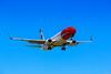 prepared to landing! (K.J Photo) Tags: norwegian boeing 737 737800 landing cph copenhagen denmark clearsky blue sky