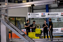 IMG_7922 (holytrinityrobotics) Tags: oakville omgrobots light event coverage robot robotics hersheyscentre gold mechanical electrical pneumatics onchampsfrc first firstcanada frc ontario tronic titans