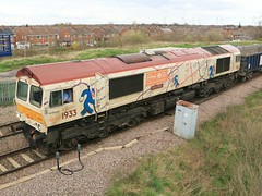GBRF 66721 Harry Beck 16th April 2018 Thorne South (3) (asdofdsa) Tags: transport railway train locomotive loco thornesouth goods freight map harrybeck
