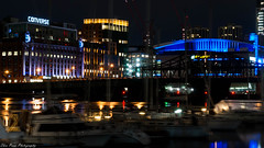 The GARDEN and CONVERSE (kuntheaprum) Tags: cityofboston nightscape longexposure nikon d80 samyang 85mm f14 sigma 50mm water boat
