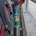 Diamant (Germany) bicycle head badge logo thumbnail