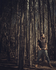 USA - Truckee - 20180503 - 1137.jpg (livrePEDRO) Tags: portrait cinematic nature fashion moody brown 4x5 fujifilm california male laketahoe beards outdoors model beard lines pattern landscape jeans mensfashion shapes woods vertical tattoo ink usa unitedstatesofamerica mystic trip sunny profile editorial adventure warm menstyle travel forest style selfportrait trails man dramatic lifestyle morning mountain