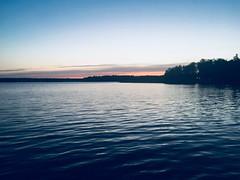 Mazury (basiamarcisz) Tags: sky niebo zachódsłońca sunset water lake woda jezioro mazury