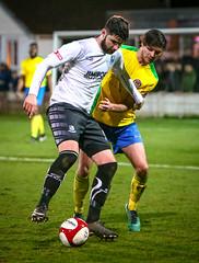 BL9U3253 (Stefan Willoughby) Tags: bamber bridge fc football club v hyde united march 2018 eco stik evostik league division 1 north non sir tom finned stadium lancashire