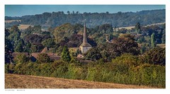 St Martins Church, Eynsford, Kent, in summer. It wont be long. (Richard Murrin Art) Tags: stmartinschurch eynsford kent insummeritwontbelong england uk richard murrin art photography canon 5d landscape travel images building cool