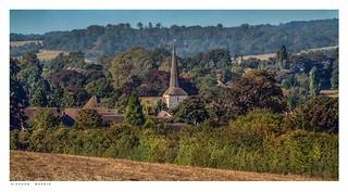 St Martins Church, Eynsford, Kent, in summer. It wont be long.