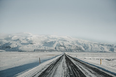 Iceland - Les Royaumes du Nord (Marie-Louise Gaspard) Tags: iceland islande road roadtrip travel travelling landscape mountains stone wild cold coldview europe nikon ice snow north nothernlight sky winter suny