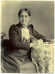 Elizabeth Yates, Mayor of Onehunga, 1894 (Archives New Zealand) Tags: archivesnewzealand photograph patentsoffice patent copyrights 1894 elizabethyates onehunga women auckland suffrage