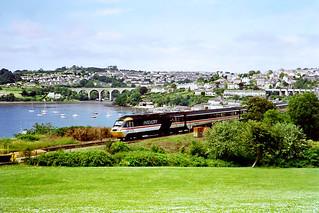 Saltash from St Budeaux, Devon, 3rd July 1993