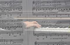 EMOZIONE MUSICALE 1 (ADRIANO ART FOR PASSION) Tags: nikon nikond90 doppiaesposizione musica spartito pianoforte 48mm nikkor18200 adrianoartforpassion adriano