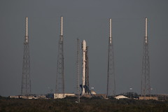 SpaceX Launch with TESS from LC-39 Gantry 4/18/18 (stargazerpearce) Tags: ccafs cape canaveral capecanaveralairforcestation elon elonmusk falcon 9 rocket launch spacex 45thspacewing kennedy space center ksc
