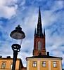 Riddarholmskyrkan (Tinus Dehabe) Tags: riddarholmskyrka knightschurch church stockholm riddarholmen sweden lamp oldchurch knights kings