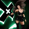 Chemical Girl (marduklust resident) Tags: sl avatar suicidedollz kinky chemical girl tableuvivant spirit swallow promagic green