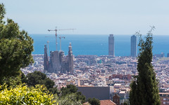 The view from Park Güell (bertrandwaridel) Tags: 2018 april barcelona barcelone catalogne catalonia catalunya cataluña espagne parcgüell spain spring catalogna