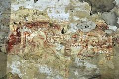 The fading saints (mikael_on_flickr) Tags: fadingsaints saints santi fresco fading disappearing chiesasangiuliano sangiuliano ferrara chiesa sconsacrato church kirche kirke
