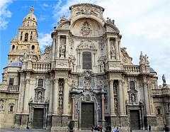 cathedral Murcia (atsjebosma) Tags: cathedral cathedraal tower details murcia spain spanje atsjebosma 2018 ige rijk geornamenteerde kathedral