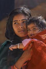 young mother (trying to catch up again !!!) Tags: nepal nepali nepaligirl kid beautiful candid streetphotography streetlife portrait travel bhaktapur kathmandu kathmanduvalley ivodedecker