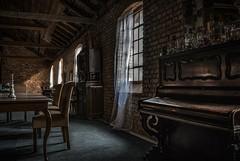 Attic Loft (Toledo 22) Tags: light windows fenster klavier badenwürttemberg artfactory markgräflerland alteziegelei kandern atticloft loft dachboden attic
