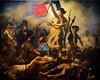 Delacroix / La Liberté Guidant le Peuple / 1830 - 2/8 (Pantchoa) Tags: delacroix peintre exposition louvre 2018 peintures tableaux femme seins seinsnus drapeau tricolore français soldats pistolets armes peuple morts révolution