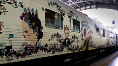 Part of a Wagon Eastern & Oriental Express (Swissrock-II) Tags: easternorientalexpress train wagon zug bangkok thailand may 2018 samsung station