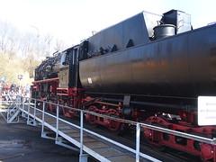 52 8154 auf der Drehscheibe (Thomas230660) Tags: dresden eisenbahn dampf dampflok steam steamtrain sony