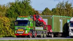 DD82265 (17.10.06, Motorvej 501, Viby J)DSC_8344_Balancer (Lav Ulv) Tags: rigid trailer poulschou hmf hmfcrane crane læssekran heavyhaulage schwertransporte convoiexceptionell særtransport sværgods volvo volvofm fm480 8x4 e5 euro5 gsv gsvmaterieludlejning 2008 truck truckphoto truckspotter traffic trafik verkehr cabover street road strasse vej commercialvehicles erhvervskøretøjer danmark denmark dänemark danishhauliers danskefirmaer danskevognmænd vehicle køretøj aarhus lkw lastbil lastvogn camion vehicule coe danemark danimarca lorry autocarra motorway autobahn motorvej vibyj highway hiway autostrada
